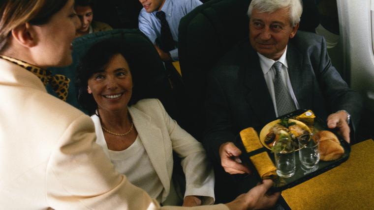 機内サービス機内食