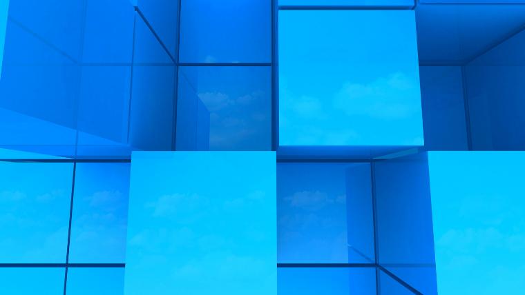 立方体と空間認知能力のイメージ