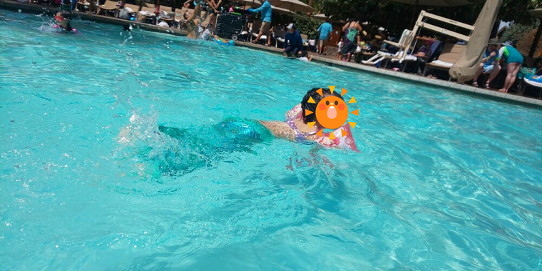 水の中で一層魚っぽいマーメイド水着